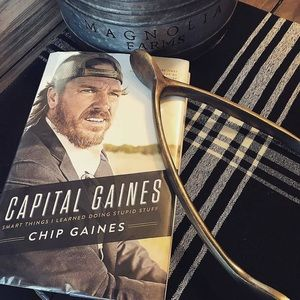 Capital Gaines Book by Chip Gaines (Magnolia)
